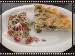 Quiche met warmoes